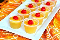 Pineapple Upside Down Cake Jello Shots