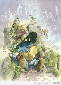 final fantasy artwork, love it!