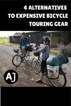 4 Alternatives to Expensive Bicycle Touring Gear – Life Style Touring Bicycles, Touring Bike, Mountain Bike Shoes, Mountain Biking, Bike Deals, Velo Cargo, Cycling Quotes, Bicycle Maintenance, Cycling Bikes