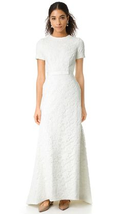 White Roses Gown