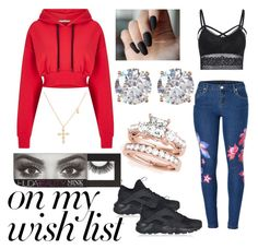 """""""Dear Santa, See This Wish List."""" by xhotcheetosx ❤ liked on Polyvore featuring Venus, NIKE, Miss Selfridge, Nordstrom Rack, Huda Beauty, contestentry and polyPresents"""