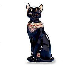 Bastet The Egyptian Cat Figurine by Lenox