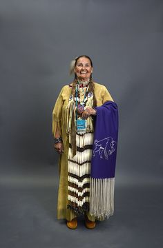 Arleta Mae Shining Star Plummer is of Chippewa and Cree heritage and was raised on the Fort Belknap Reservation in northern Montana. Photo, September 1, 2015 by Carol M. Highsmith at a gathering of Native People in Pueblo, Colorado. Gates Frontiers Fund Colorado Collection, Carol M. Highsmith Archive, Library of Congress.