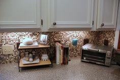 Kitchen Tile Backsplash {Do-It-Yourself}