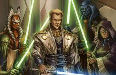 The Jedi Knights of the Old Republic