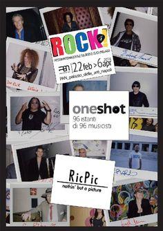 """Riccardo Piccirillo è un fotografo esperto in scatti di musica dal vivo. Ma, al di là di teleobiettivi, flash e attrezzature professionali, c'è un accessorio da cui """"RicPic"""" non si separa mai a nessun concerto. Ed è la sua compatta istantanea, una di quelle macc"""