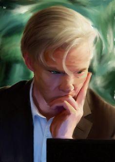 benedict cumberbatch / julian assange / the fifth estate