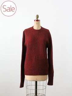SALE 1980s wool sweater by Cambridge Classics