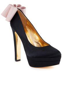 Ted Baker OAKER - Origami bow platform shoe - £110