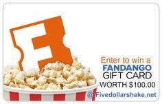 Enter to win a $100.00 Fandango Gift Card!