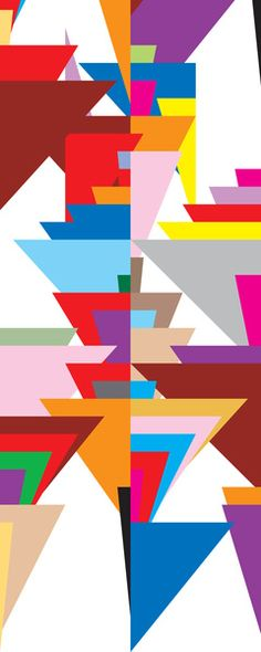 geometric Framed Art Print by kapitza | Society6
