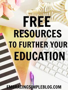 Learning new skills and furthering your education should continue beyond just your years of schooling! Use these free resources to further your education and build a skill set that will help you challenge yourself and succeed in life!