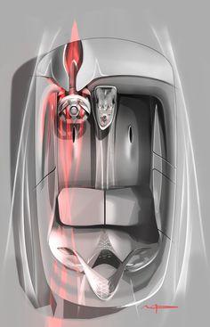 Relive the design birth of the #Renault #EOLAB. (c) Droits réservés Renault