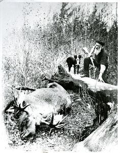 Mr. Berry, friend and hunting companion of Herb Shaw | saskhistoryonline.ca