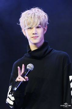 Mark Tuan always turns me on with this hairstyle!!! I don't know it looks so…