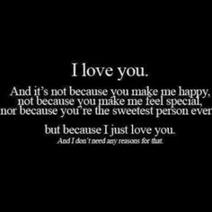 I love you baby! I Love You Honey, I Just Love You, You Make Me Happy, How Are You Feeling, Cute Crush Quotes, Cute Quotes, Best Friend Soul Mate, Inspirational Quotes Pictures, Meaning Of Love