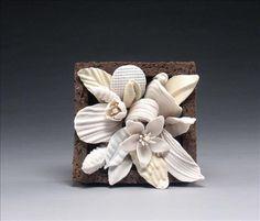 Orange Blossom, porcelain and earthenware