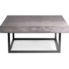 Mia Concrete Indoor/Outdoor Coffee Table