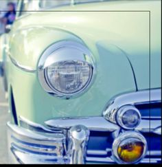 I would love to drive a classic car in mint