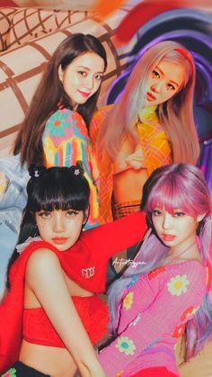 Kpop Girl Groups, Korean Girl Groups, Kpop Girls, Selena Gomez, J Pop, Lisa Blackpink Wallpaper, Black Pink Kpop, Blackpink Members, Blackpink Photos