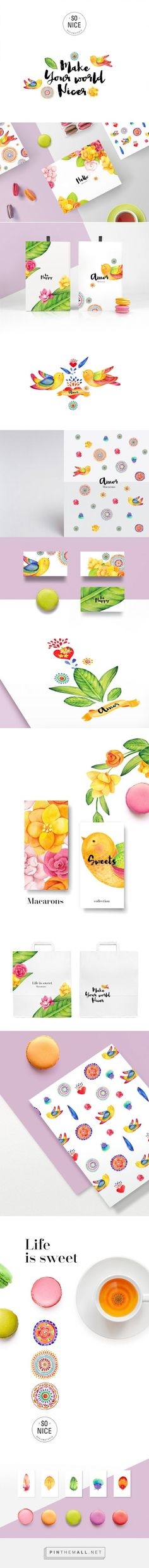 Life Is Sweet #Macarons #concept #packaging designed by @SoNiceDesign ? - http://www.packagingoftheworld.com/2015/04/life-is-sweet-macarons-concept.html