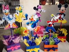 Mickey Mouse Clubhouse birthday party wood guest by FalconArte