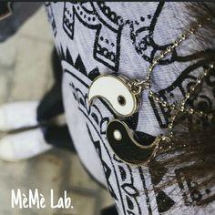 Gli outfit del martedì Con le collane Yin & Yang www.memelabaccessori.com