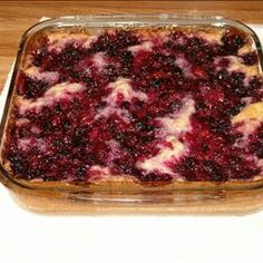 BLACKBERRY COBBLER on BigOven: Easy, old-fashioned Southern cobbler recipe.  Don't wash fresh berries until you're ready to use as they are most delicate.  This recipe uses either fresh or frozen berries.