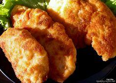 Nejedlé recepty: Obalovaný smažený řízek Czech Recipes, Ethnic Recipes, Czech Food, Food And Drink, Chicken, Meat, Essen, Cubs
