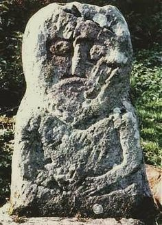 Warrior Stelae Ireland, Crom Dubhthact, Co. Cavan