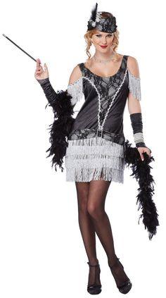 3e628df3bdd93 Getting ready for 2015 NYE Party Roarin  20s style Women s Razzle Dazzle 20 s  Flapper Costume