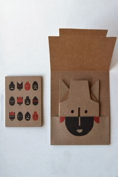 Unconventional Design For Kids: cardboard Paper Art, Paper Crafts, Origami, Paper Engineering, Cardboard Toys, Book Layout, Book Binding, Red Riding Hood, How To Make Paper