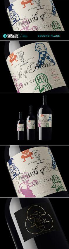 The Dieline Awards 2017: Friends of Friends Wine — The Dieline | Packaging & Branding Design & Innovation News