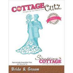 Wykrojnik do scrapbookingu Cottage Cutz - Młoda Para