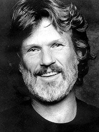 Kris Kristofferson. Possibly the world's most interesting man! Seriously, read his bio...