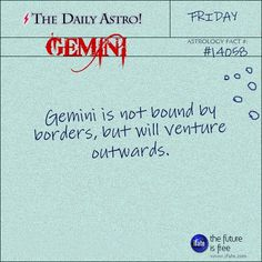 Daily Astro: Gemini Check your Gemini horoscope now.  Visit iFate.com today!