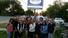A photo from our Employee Appreciation BBQ yesterday. We love the the Hope Chest and all of our supporters! <3