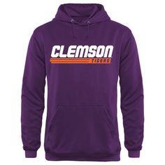 Clemson Tigers Billboard Hoodie - Purple