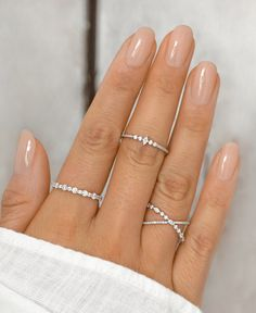 Wedding Photographer Outfit, Ring Verlobung, Diamond Rings, Silver Rings, Engagement Rings, Nails, Wedding Stuff, Beauty, Jewelry