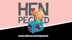 Hen Pecked - paper animation to download and make