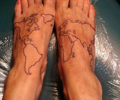 """a constant reminder of one's """"footprint""""?"""