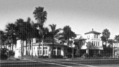 The first Carlsbad Hotel opened in the late 1880s... Back then, the resort offered hot and cold mineral and fresh water baths.