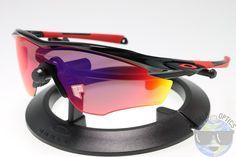 Oakley M2 Frame Sunglasses OO9212-06 Polished Black w/ OO Red Iridium Polarized