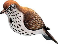 Birdhouses  Songbird Essentials SE3880063 Hermit Thrush Birdhouse (Set of 1) Outdoor Space
