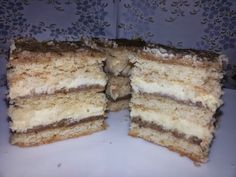 Kijevi krémes mester sütiliszt+dió Tiramisu, Ethnic Recipes, God, Tiramisu Cake
