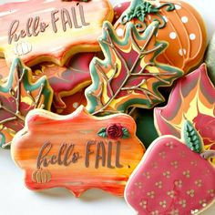 """270 Likes, 22 Comments - LHE BAKES / Lisa (@lhebakes) on Instagram: """"#flashbackfriday to these #fall #sugarcookies we did last year!! The weather is starting to turn…"""""""