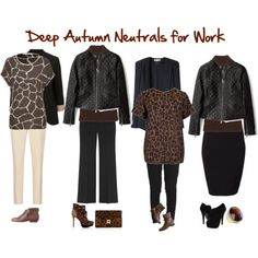 Deep Autumn Neutrals for Work
