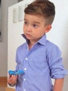 cool little boy haircuts short - Google Search...