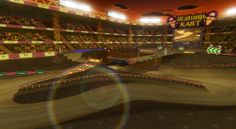 I rank at There are many speed ramps to be jumped, but missing the jump can sometimes be dreadful. What is your favorite stadium track in the series? Mario Kart, View Source, Wii, Basketball Court, Fair Grounds, Travel, Voyage, Trips, Viajes