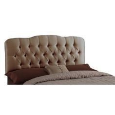 Upholstered Headboard- to tuft or not to tuft...?